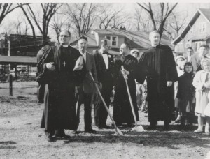 Groundbreaking April 5, 1959